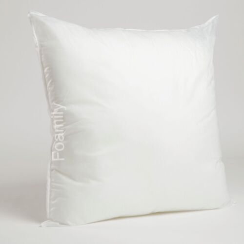 hypoallergenic premium square euro pillow form insert all sizes made in usa home decor pillows uniforce indian south asian home decor pillows