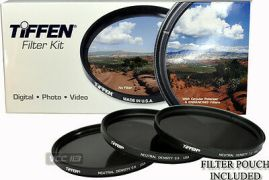 TIFFEN-72MM-Filter-Kit-ND-NEUTRAL-DENSITY-0-6-0-9-1-2-ND4-ND8-ND16-Made-in-USA