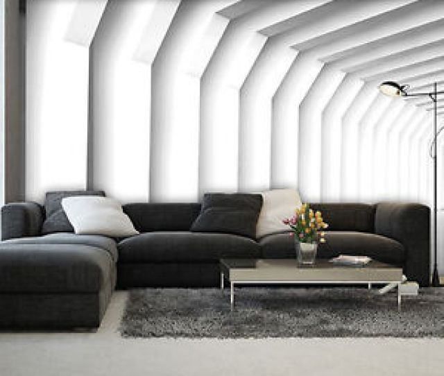 Das Bild Wird Geladen Bild Tapeten Fototapete Tapete Poster Muster Weiss Zimmer