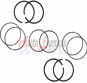 NEW 2 Sets of Piston Rings Oil Rings Seals FITS Honda