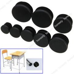 Plastic Inserts For Metal Chair Legs Dental Technician Jobs 4 10pc Round Leg Glide Cap Plug Tubing Pipe Insert Image Is Loading