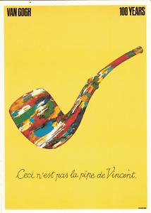 Ceci N'est Pas Une Pipe : n'est, Milton, Glaser, 1989•Ceci, N'est, Vincent•Notecard