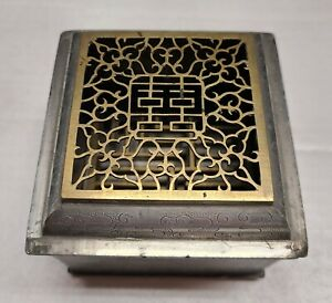 Incense Burning Clock Chinese 1800's