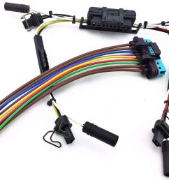 details about 97 03 ford powerstroke diesel glow plug injector wire harness pigtails 7 3l sd [ 1599 x 1054 Pixel ]