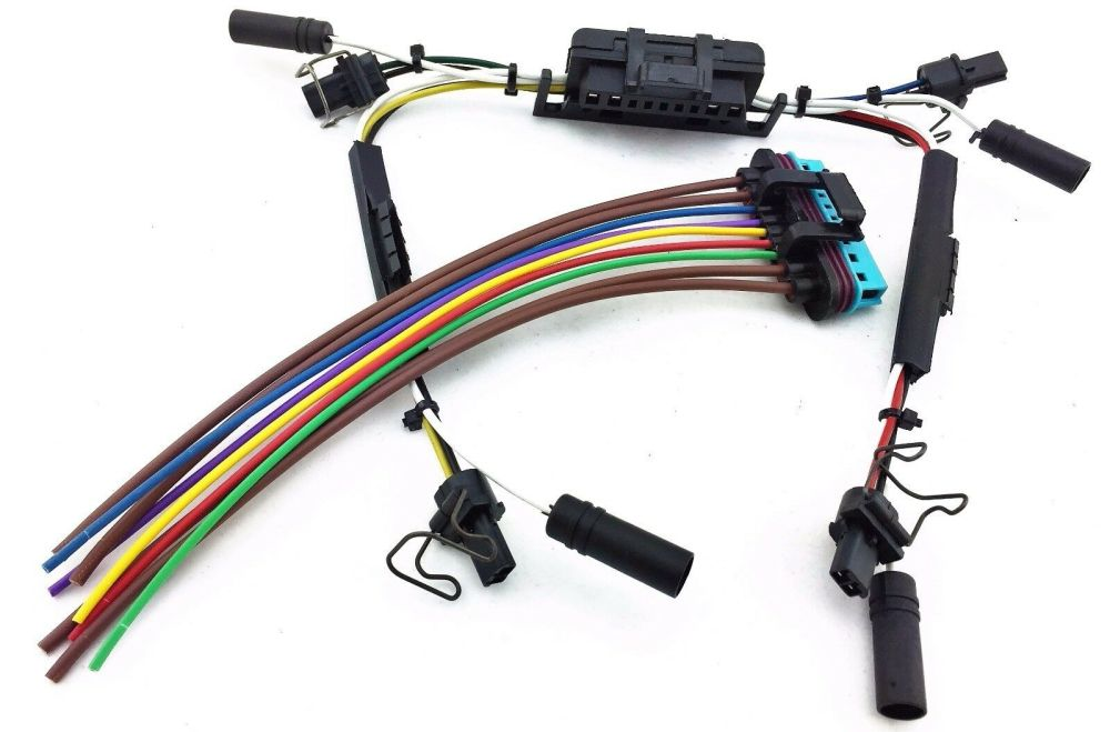 medium resolution of details about 97 03 ford powerstroke diesel glow plug injector wire harness pigtails 7 3l sd