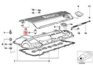 Genuine BMW E34 E36 Cabrio Engine Cylinder Head Valve