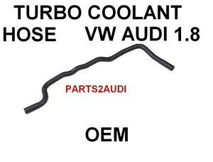 HOSE, COOLANT; AUDI VW TURBO COOLANT HOSE 058121471B, 98