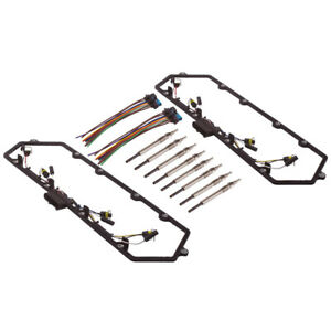 Valve Cover Gasket Gaskets w/ Harness Glow Plug Kit Fit