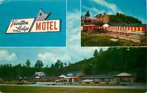 Roadside Postcard Vacation Lodge Motel Pigeon Forge Tennessee Used 1963 Ebay