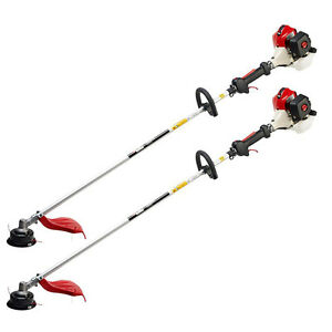 2 RedMax TRZ230S Commercial Gas String Trimmers Weed
