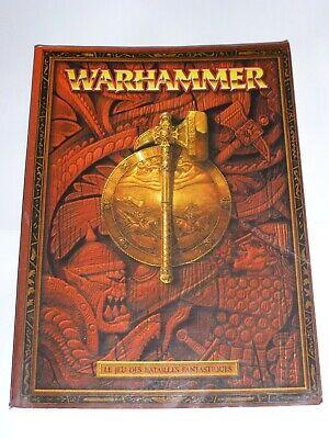 Warhammer Le Jeu Des Batailles Fantastiques : warhammer, batailles, fantastiques, LIVRE, WARHAMMER, BATAILLES, FANTASTIQUES, GAMES, WORKSHOP