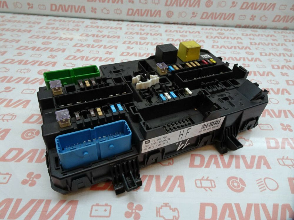 medium resolution of opel vauxhall astra h zafira b fuse box relay control module unit 13206758
