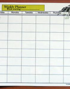 Image is loading  full size laminate weekly planner dry wipe also wall chart with rh ebay