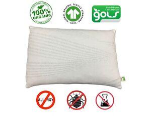 Organic Snuggle Pillow Latex Pillow Brand New GOLS GOTS ...