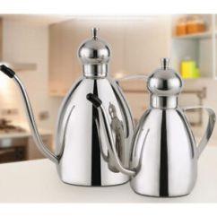 Oil Dispenser Kitchen Flooring Trends Olive Vinegar Bottle Pour Spout Can Pot Image Is Loading