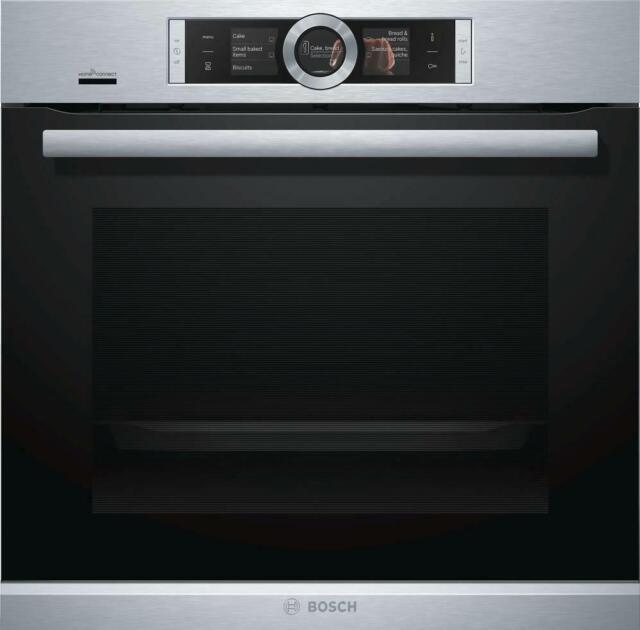 bosch hbe5452uc 500 series 24 inch smart single electric wall oven in stainless