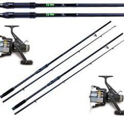 Qdos Fishing Chair Big Round Sofa 2 X 8ft Carp Stalker Rods With Bag Freecarp Free Image Is Loading