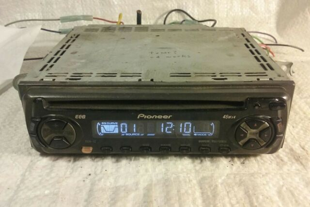 pioneer deh 1979 pontiac firebird wiring diagram 12 cd player in dash receiver ebay