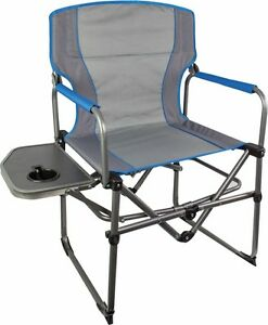 outdoor folding chair with side table bedroom walmart compact directors image is loading