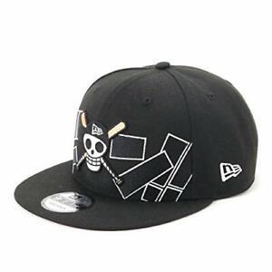 NEW ERA 9FIFTY Snapback Cap ONE PIECE BAT Skull Pirate Flag Black Color 4550236259414 | eBay