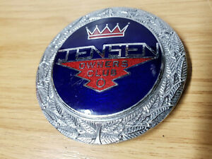 Vintage Jensen Owners Club - Car Clubs Metal Grill Badge
