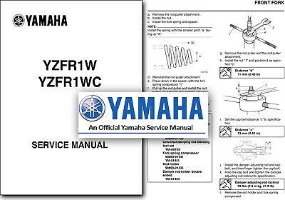 Yamaha YZF R1 Service Manual 2007 2008 Workshop Shop