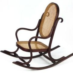 Small Rocking Chairs 30 Sec Chair Stand Norms Art Deco Bentwood With Cane Seat Free Shipping Image Is Loading