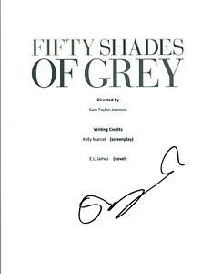 Sam Taylor Johnson Signed Autographed FIFTY SHADES OF GREY
