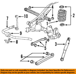 2005 chevy equinox suspension diagram 240sx wiring stereo rear data gm oem track bar 22863710 ebay clutch source chevrolet