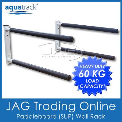 aquatrack sup surfboard wall rack double stand up paddle board longboard ebay