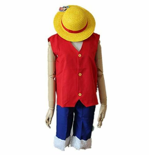 Monkey d luffy costume consists of luffy cosplay costume, luffy straw hat and luffy sandals, to complete your. Beautiful One Piece Monkey D Luffy New World Costume Outfits Halloween Cosplay With Hat Free And Fast Delivery Available Actuary Statistics Unpad Ac Id