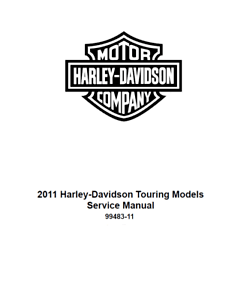 Other Motorcycle Manuals 2011 Harley Davidson Electra