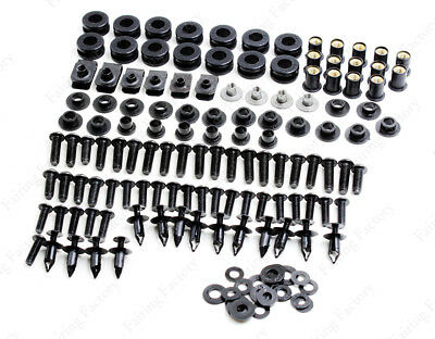 Complete Fairing Bodywork Bolts Screws Washers Kit For