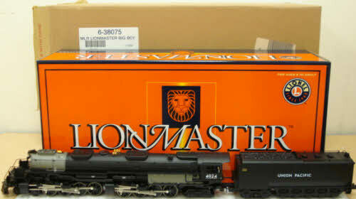 Lionel Lionmaster Union Pacific Big Boy 4-8-8-4 Steam Locomotive for sale online   eBay