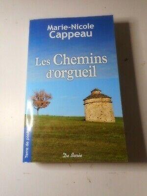 Les Chemins De L Orgueil : chemins, orgueil, Livre, Roman, Marie-Nicole, Cappeau, Chemins, D'orgueil
