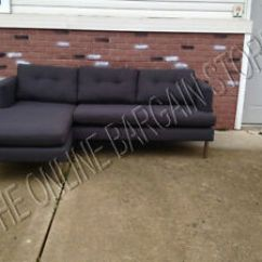 West Elm Dunham Sofa Reviews Slipcover Sofas Uk Pottery Barn Jackson Couch Sectional Chaise Iron Image Is Loading