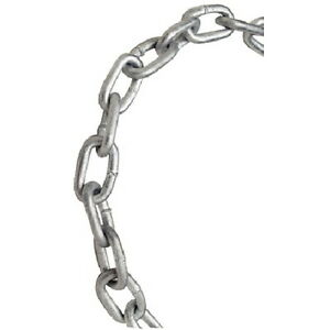 3/8 Inch x 63 Ft Grade 30 Galvanized Proof Coil Chain for