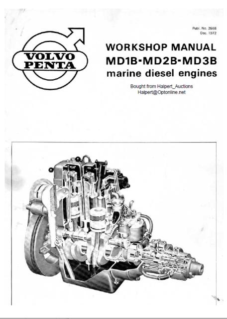 NEW Sealed Set of Volvo Penta