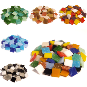 400 Vitreous Glass mosaic tiles for Arts and Crafts  Various Mixes  eBay