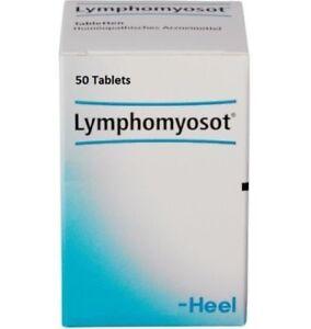 LYMPHOMYOSOT HEEL 50 Tabs - Lymph Drainage Detox and Anti ...