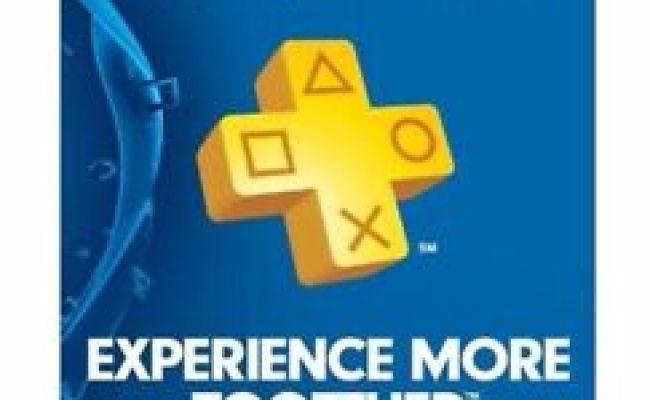 Sony Playstation Plus 1 Year Membership Subscription Card