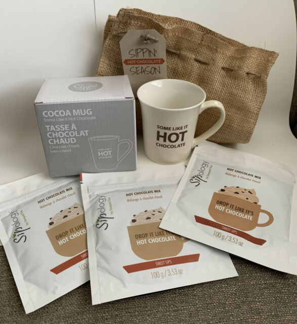 Steeped Tea - Sipology - Hot Chocolate Sampler Lot -SOLD OUT | eBay