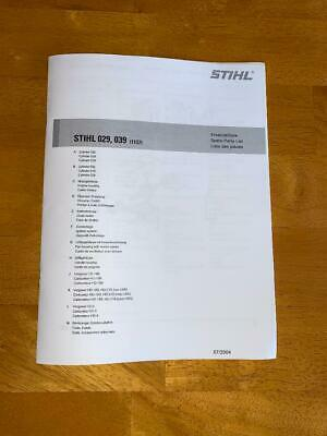 Stihl Ms290 Parts Diagram : stihl, ms290, parts, diagram, Stihl, Chainsaw, Illustrated, Parts, Diagram, Manual