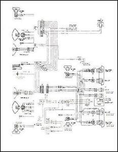 mid-1975 GMC Astro 95 Chevy Titan 90 Foldout Wiring