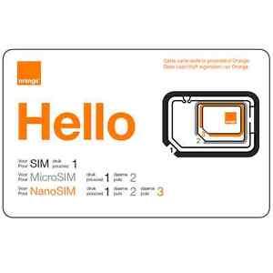 image is loading carte sim prepayee orange be nouveau numero 15