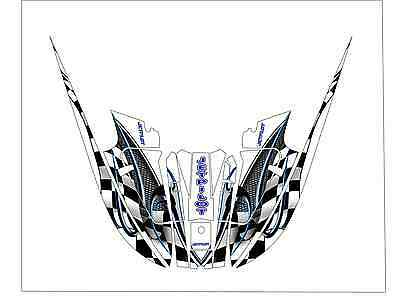 kawasaki 650 x2 jet ski wrap graphic pwc decals decal kit