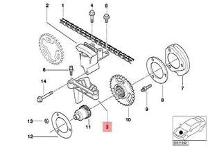 Genuine BMW E34 E36 E38 E39 E46 E53 Timing Chain Guide