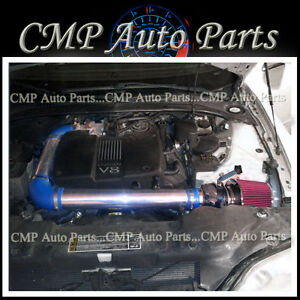 BLUE RED 20002002 LINCOLN LS 39 39L V8 4DR AIR INTAKE KIT INDUCTION SYSTEMS | eBay