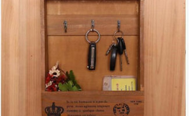 Key Holder Wall Mount Hanger Hook Organizer Storage Home