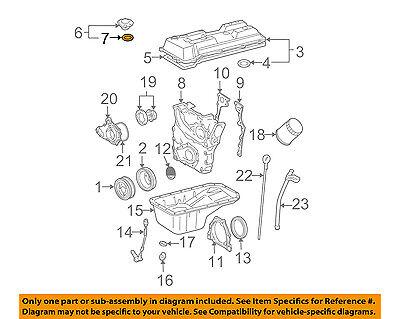 TOYOTA OEM Engine-Filler Cap Gasket 9043037140 | eBay